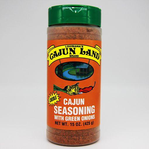 Cajun Land Cajun Seasoning with Green Onions