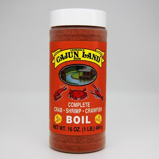 Cajun Land Complete Crab Shrimp and Crawfish Boil
