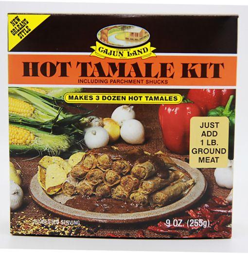 Cajun Land Hot Tamale Kit