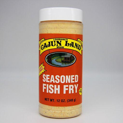 Cajun Land Seasoned Fish Fry