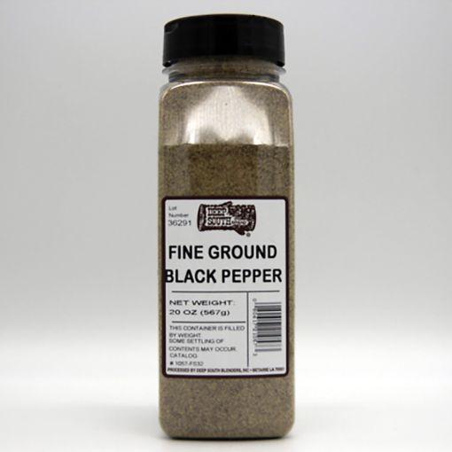 Deep South Blenders Fine Ground Black Pepper