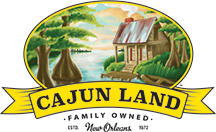 Cajun Land in New Orleans