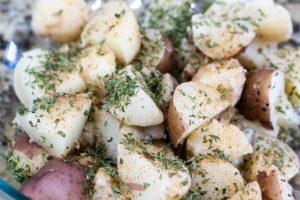 Cajun Boiled Potatoes Recipe