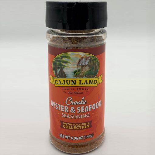 Cajun Land Creole Oyster and Seafood Seasoning