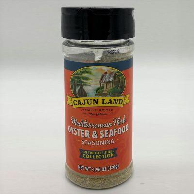 Cajun Land Mediterranean Oyster and Seafood Seasoning